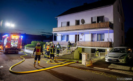 Feuer im Keller in Mittelkalbach ausgebrochen: 40 Einsatzkräfte vor Ort