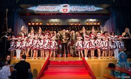 Alle für Einen - Einer für Alle: Musketierparty des Harmerzer Carneval Club