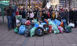 Ziel der Müllsammelaktion: Bewusstsein für das Thema Müll schaffen