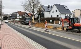 Ab Donnerstag: Frankfurter Straße vorerst wieder komplett befahrbar