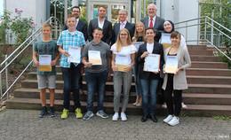 Landessieger beeindrucken Jury mit Fleiß und Kreativität