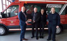 Wärmebildkamera für die Feuerwehr der Stadt Ulrichstein