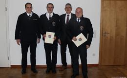 Zwei Kreisbrandmeister im Amt bestätigt: Tony Michelis und Mario Henning