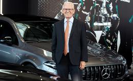 Autohaus Kunzmann: Seniorchef Wolfgang Diehm wird 80 Jahre alt