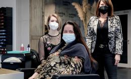 Nach fast elf Wochen Lockdown: Friseure atmen endlich wieder auf