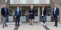 Frischer Wind für Kreisstadt: Junge Union zu viert im Stadtparlament vertreten