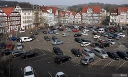 Vorbereitungen für den Hessentag: Marktplatz am 6. und 8. Mai gesperrt