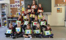 Gesamtzertifikat für kleine Grundschule in Schlitzenhausen