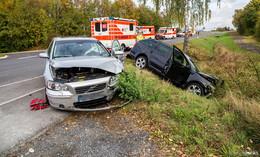 Vorfahrt genommen: Schwerer Unfall zwischen Hünfeld und Sargenzell