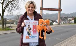 Wahl der ersten Miss Main-Kinzig: Krönchen und Schärpe auf der Wächtersbach Messe