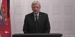 Große Sorgen! Regierungschef Bouffier: Er war verzweifelt und ging von uns.