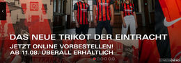Das neue Trikot der Eintracht Frankfurt jetzt vorbestellen!