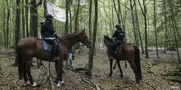 Der Tag X rückt näher: Polizei bereitet sich auf Baumhaus-Räumung vor