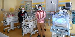 Drillinge am Klinikum Fulda geboren: Welch ein Familienglück bei Huders