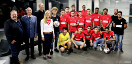Kirchliche Unterstützung für FC International Fulda