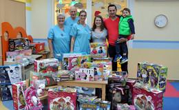 500 Spielsachen für die kleinsten Patienten des Fuldaer Klinikums
