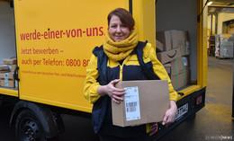 Pakete, Päckchen und die Post - Eine Postbotin im Weihnachtsstress