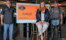 10.000 Euro von Harley-Motorradchapter an Deutsche PalliativStiftung