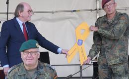 Symbol mit Tradition: Lauterbach erhält als 51. Kommune die Gelbe Schleife