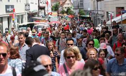 Mehr als 377.000 Besucher beim Hessentag: Positive Halbzeitbilanz