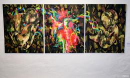 44 Mitglieder mit je einem Werk - Kunst versucht sichtbar zu machen