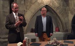 Regierungspräsident Dr. Christoph Ullrich auf Fantasy-Reise im Vogelsberg
