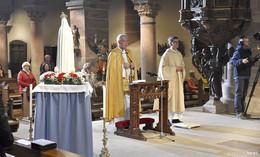 Fatima-Weltapostolat feiert Gottesdienst in der Stiftskirche