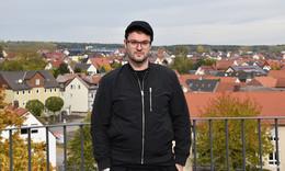 Autor Felix Krakau fühlt sich wohl und arbeitet produktiv an neuem Werk