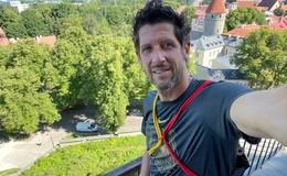 Michael Franz als Physio bei der U23-Leichtathletik-EM in Tallinn