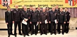 Jahreshauptversammlung der Freiwilligen Feuerwehren Großenlüder
