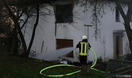 Brandeinsatz in Zweifamilienhaus: Zwei Leichtverletzte