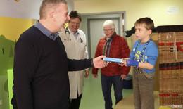 """Spende für Projekte """"Die Gute Fee"""" und zweites Spielzimmer in der Kinderklinik"""