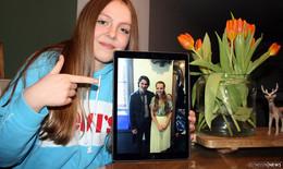 Traumberuf Schauspielerin: Fay Dimmerling (14) spielt in der Wolf-Gäng mit