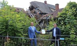 Dorf soll attraktiver werden: Breitenbachs verfallenes Anwesen wird abgerissen