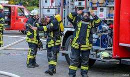 Brand auf dem Gelände der Feuerwehr- Ursache bisher unklar