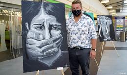 Thüringer Rostbratwurst trifft auf Kunst - Philipp Grüßner greift Tabuthemen auf