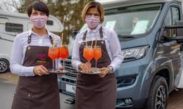 Not macht erfinderisch: Wohnmobilrestaurant ermöglicht Ausgehen trotz Corona