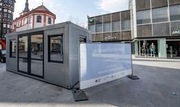 Bürgertest-Zentrum in der Fuldaer Innenstadt - Neuer Standort in Neuhof