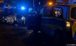Schwerer Unfall auf Einsatzfahrt: Polizeiauto kollidiert mit SUV