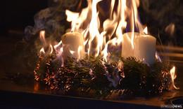Advent, Advent - die Wohnung brennt: Brandschutz in der Weihnachtszeit