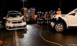Schwerer Unfall in der Königreichallee - Fahrerin schwer verletzt