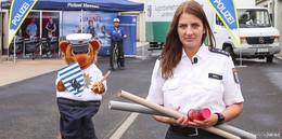 Polizei Osthessen bringt die Jugendverkehrsschule nach Hause