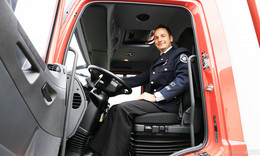 Wehr Reilos erhält Löschgruppenfahrzeug (LF-KatS) vom Bund