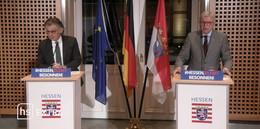 MP Bouffier (CDU): Anstrengungen haben sich gelohnt, trotzdem gilt Vorsicht
