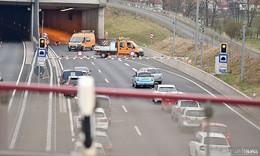 Wartungsarbeiten und Vollsperrungen im A66-Tunnel Neuhof