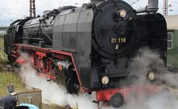 Lokschuppenfest: Von kleinen und großen Dampfrössern