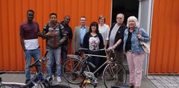 DRK-Fahrradwerkstatt bereitet alte Drahtesel auf