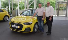 Heinrich Wesemann gewinnt Audi A1 Sportback im Wert von 30.000 Euro