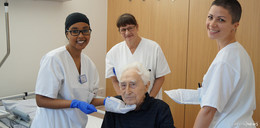 Krankenhaus Eichhof führt Waschhandschuh ein, der Patienten schützen soll