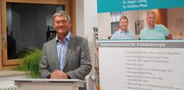 Dr. Jürgen Ludwig informierte im Krankenhaus Eichhof über Osteoporose